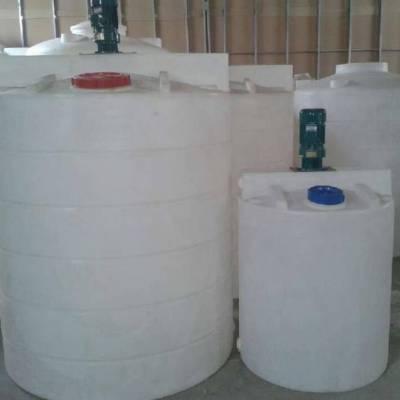 1吨塑料搅拌桶(可配电机) 1立方母液搅拌罐 软化合成加药箱设备