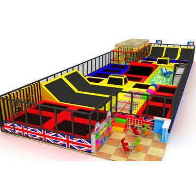 青海海西淘气堡加盟、海南大型蹦床乐园产品海北做主题乐园的生产公司 儿童小滑梯