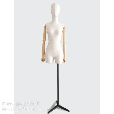 模特道具 服装模特 包布模特 半身包布女模特 半身包补展示模特