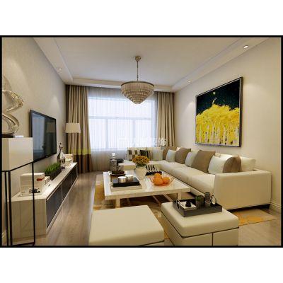 哈尔滨大树装饰 保利城 现代风格
