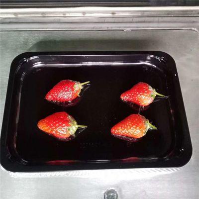 诸城广盈机械(图)-草莓贴体包装机多少钱-浙江草莓贴体包装机