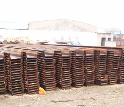 云南曲靖钢板桩施工,租赁施工,拉森钢板桩围堰基坑支护