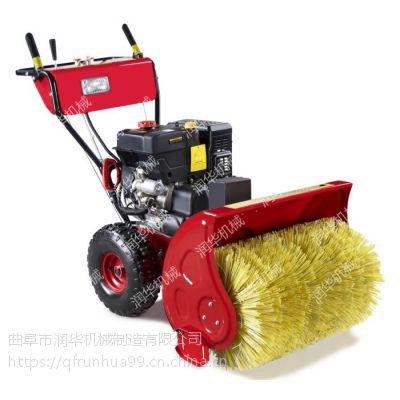 清理路面树叶吹风机 四冲程汽油吹雪机 市政手推式扫雪机