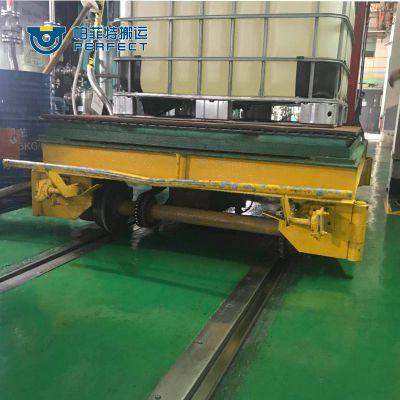 江西南京钢铸件搬运轨道平车厂区运输环保小车 帕菲特