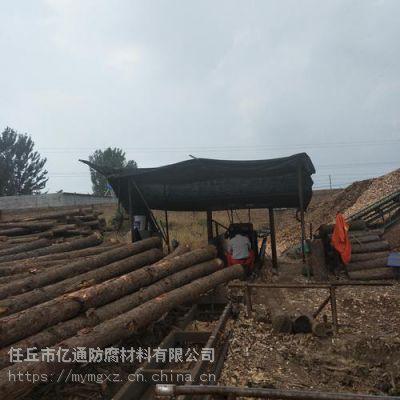 厂家供应防腐油木杆 电力木杆 通信木杆 油木杆