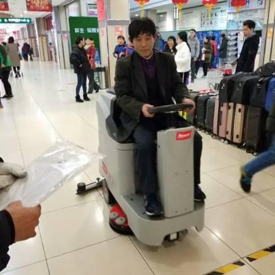 南宁商场超市日常保洁用驾驶式洗地机有何优势