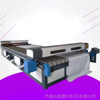 济南厂家直销1841滤布激光切割机 纱布过滤布双头自动送料雕刻机