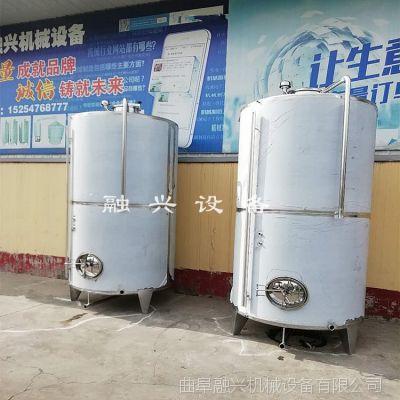 邯郸立式储酒罐 葡萄酒发酵罐 白钢容器制造厂家 10吨立式不锈钢储罐批量生产