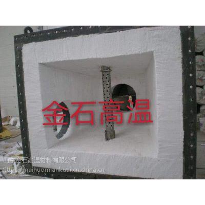 RTO炉保温耐火材料陶瓷纤维模块安装