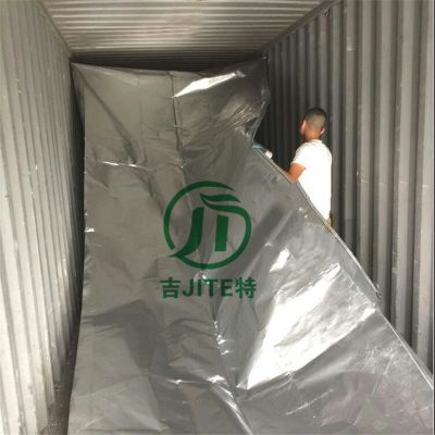 厂家直销深圳大型铝膜六个面包装袋 海运防潮真空包装铝箔立体袋