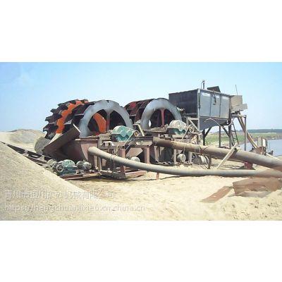 山东水洗机 建筑工地高产洗砂粉碎机
