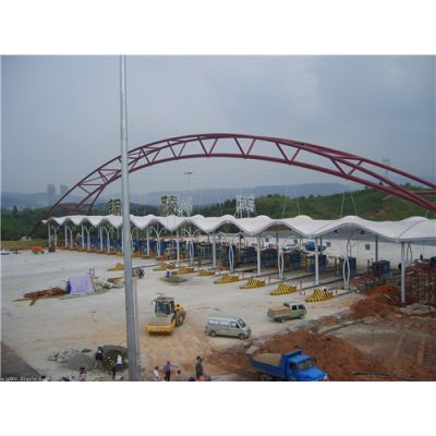 膜结构车棚销售-滁州膜结构车棚-锦芊装饰工程
