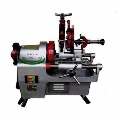 东硕机械3寸台式电动套丝切管机 电动切管机