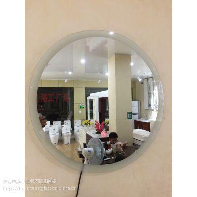 内蒙古鄂尔多斯厂家定制 星级酒店 宾馆高端带灯智能镜子