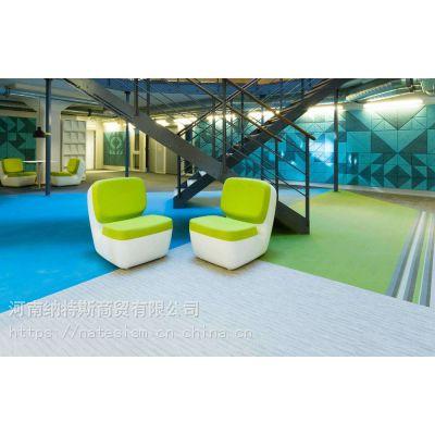 泉州PVCBOLON波龙编织地胶编织地毯厂家直销异形扁丝细丝S丝商用地毯塑胶地板