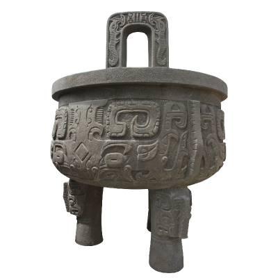 花岗岩石雕香炉价格合理质量保证 适用宗教庙宇祖祠陵园等地可定制