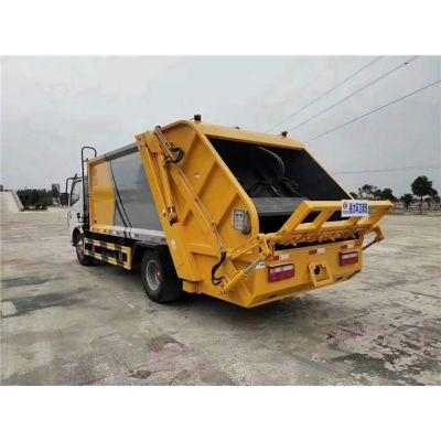 甘肃多利卡8方压缩垃圾车价格多少钱