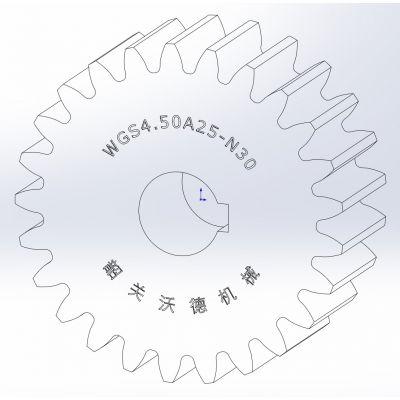 供应标准直齿轮【 M4.50 】,A型,精密齿轮,正齿轮
