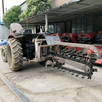农田建设机械 电缆开沟机 混凝土路面开沟机