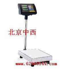 中西dyp 电子台秤 型号:TFL10-TCS-300库号:M137681