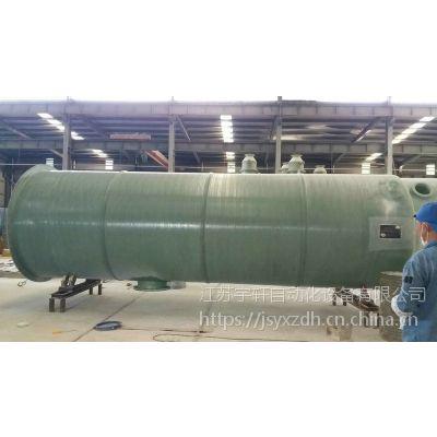 成都一体化预制泵站宇轩设备的特点与优势