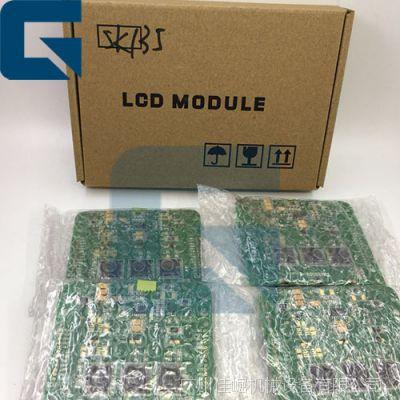 SK135挖掘机控制器部件LCD模块板LCD监视器
