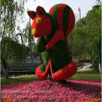 定制仿真24个汉字音乐造型,假草坪植物拱门绿雕雕塑