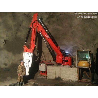 矿山机械碎石机搬运机械手