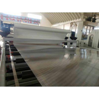 金韦尔PC、PP、PE中空格子板生产线