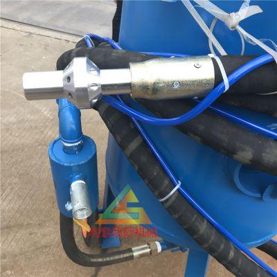 移动湿式喷砂机技术方案