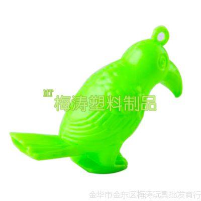 创意认知婴幼儿童玩具节庆赠送挂饰小礼品发声哨水鸟啄木鸟口哨