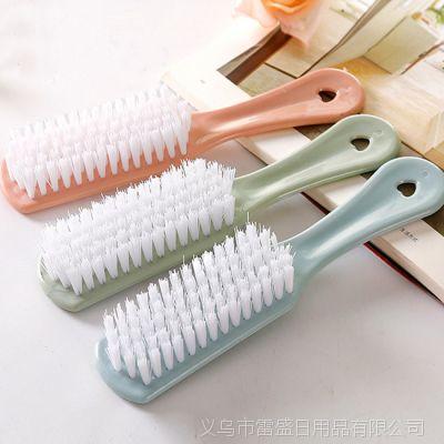 塑料小刷子鞋子清洁刷 素色软毛洗鞋刷洗衣刷洗衣服板刷鞋刷子