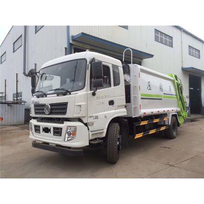 东风14吨压缩垃圾车价格配置