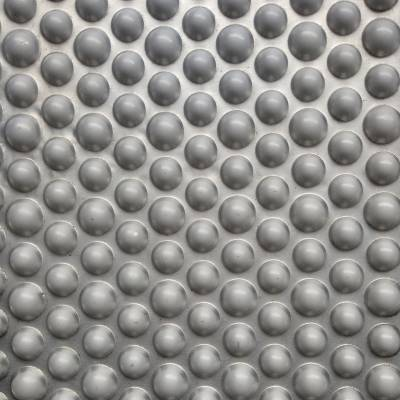 铝芯复合板夹芯层大小圆点合金铝板金属压花机,可根据要求定制规格