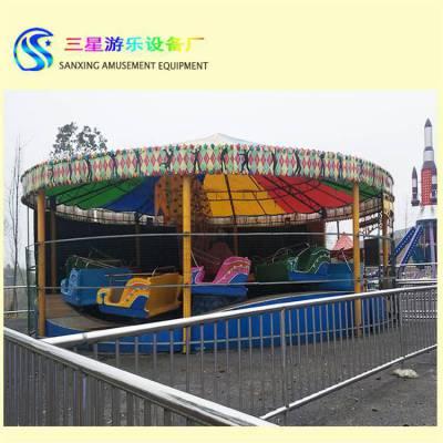 大型户外公园游乐设备雷霆节拍游艺设施项目厂家