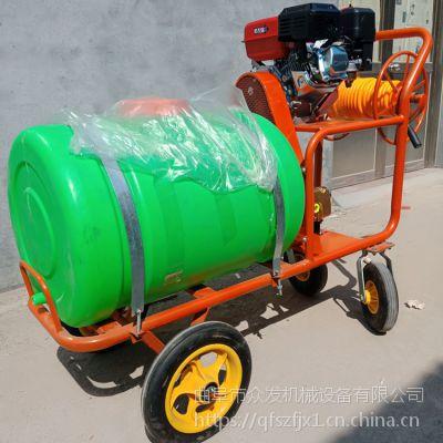 多功能汽油果园打药机 自走式四轮消毒喷雾机 喷雾器价格