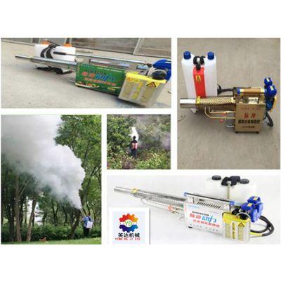 蔬菜用农药机 花卉消杀汽油喷雾机 双管烟雾机