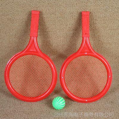 儿童玩具批发球拍玩具中号网球球拍玩具小圆形网面球拍玩具批发