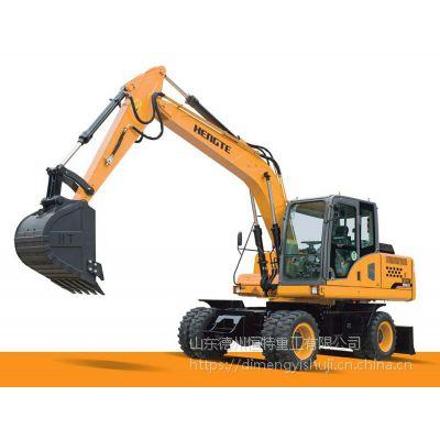轮挖——轮式挖掘机HT135W恒特重工