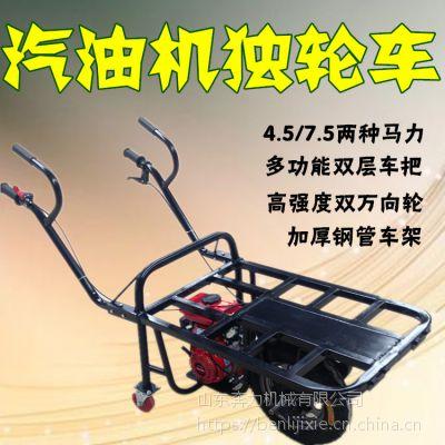 手推汽油鸡公车 田埂使用省劲运货车 奔力DL-MX8