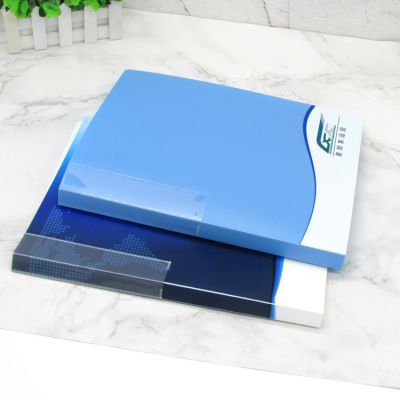 PP塑料a4文件夹 资料整理夹 打孔夹 活页插页夹