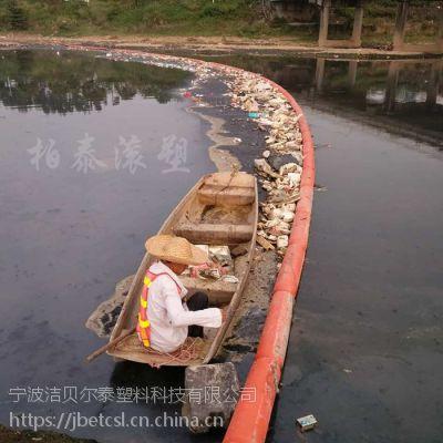 市区河道拦污索拦截水面水草漂浮物浮筒介绍