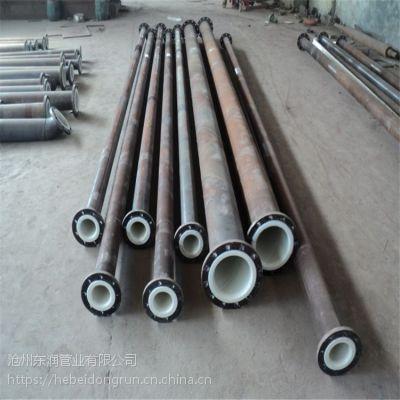 沧州东润直销给水衬塑复合钢管 耐酸碱衬塑碳钢直缝焊管厂家