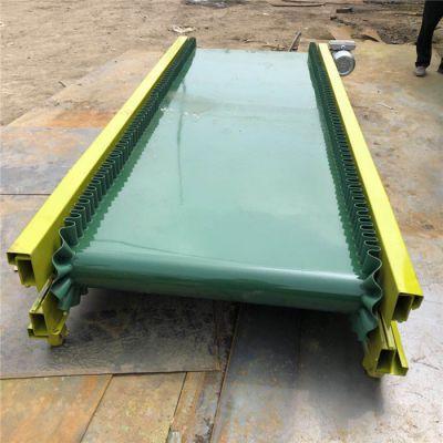 倾斜式可移动输送机 爬坡式沙土传送带 润华平稳上料输送机