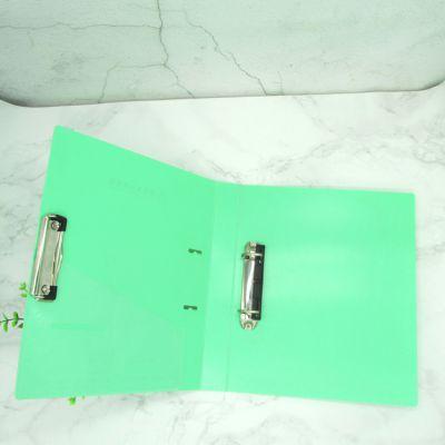打孔文件夹 双强力夹 a4资料夹 两孔活页夹 D型夹