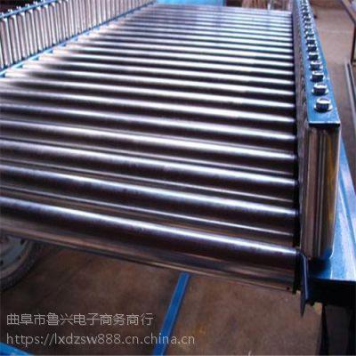 连云港辊筒输送机 铝型材水平输送滚筒线