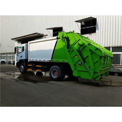 10方环卫垃圾车现车,8吨压缩式垃圾车价格