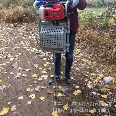 起松柏树苗刨树机 可手提挖树机厂家 佳鑫牌便携式手提挖树机