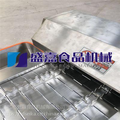 越南凤爪生产线 鸡爪切段机 鸡爪分切机