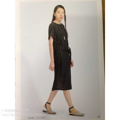 北京一线品牌依丁可唯女装折扣店货源进货渠道